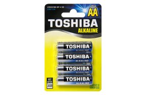 BATTERIES TOSHIBA AA